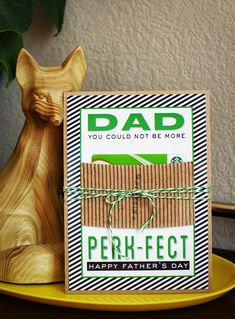 eighteen25: Perk-fect Dad Gift Card Holder