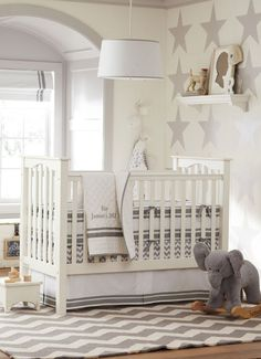 Love Pottery Barn Kids... one grey and one navy blue