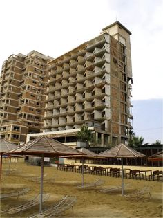 Abandoned resort of Varosha located in the city of Famagusta within Northern Cyprus.