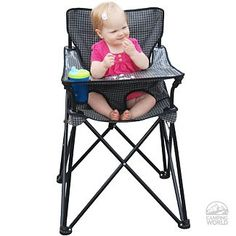 A portable high chair.  Love this!