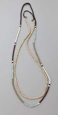 Shashi Zen Golden Nugget Necklace