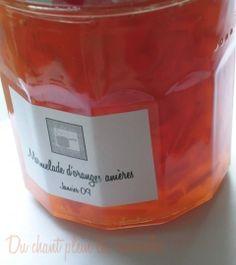 Marmelade d'oranges amères