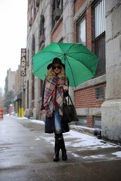 { rainy day fashion }