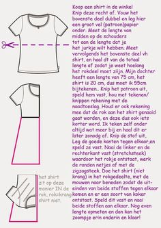 made with love: Shirtjurkje voor alle maten!