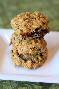 gluten free vegan pumpkin cranberry oatmeal cookies