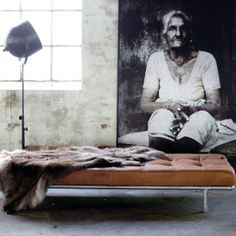 leather daybed from www.bodieandfou.com