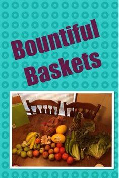 Food co-op Bountiful Baskets #fresh fruits #fresh vegetables #bountifulbaskets