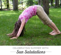 Yoga for Kids: Celebrating Summer with Sun Salutations