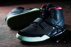 Nike Air Yeezy II Black/Solar Red (New Images)   KicksOnFire