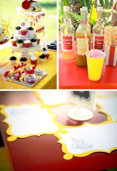 Curious George birthday party ideas.