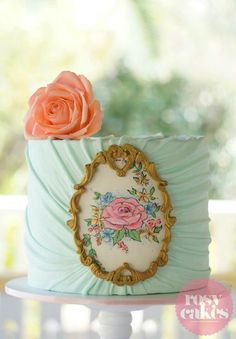 Beautiful Rosy Cakes cake