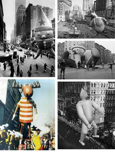 Vintage Macy's Thanksgiving Day Parade Photos! | #HolidayCocktailParty