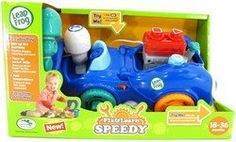 LeapFrog Fix and Learn Speedy by LeapFrog. $24.09. From the Manufacturer                Get on the fast track to fun with Fix and Learn Speedy. Children can learn about shapes, counting and more as they play with a car that will tune up their motor skills and fire up their imaginations. Parents can connect to the online LeapFrog Learning Path for customized learning insights and ideas to expand the learning. Appropriate for children ages 18-36 months.                ...