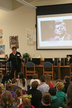 A Keller resident who was 16 at the time shared her eyewitness account of the JFK assassination at Trinity Meadows Intermediate School