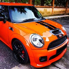MINI Cooper S, orange!