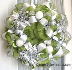 Holiday Deco Mesh Wreaths | Southern Charm Wreaths