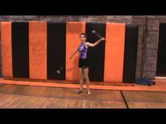 ▶ Baton Twirling Tutorial: 2 baton tricks - YouTube