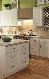Findley & Myers Malibu White Kitchen Cabinets