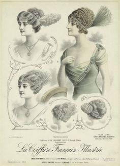Coiffures de Mr. Lalanne, 100, Fg. St. Honoré, Paris. (1913)