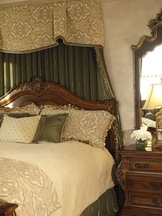 Traditional Master Bedroom in a San Diego home