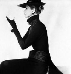 Lisa Fonssagrives by Irving Penn for Vogue 1952