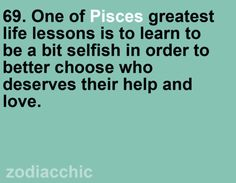 pisces Zodiac Facts