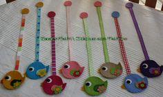 Little birdie bookmarks