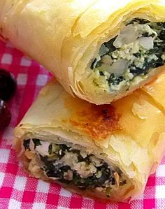 Cool Spinach Rolls
