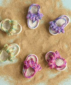 Popsicle Sandals | crochet today