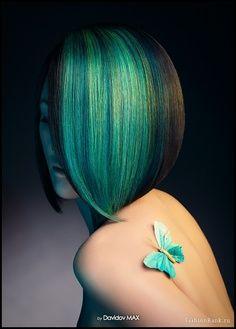 Gem hairstyle - Demonica series by Larissa Ione