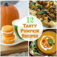 12 Tasty Pumpkin Recipes