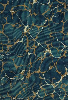 // Vintage 19th c. marbled paper