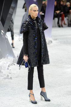 #Chanel Fall 2012 #Runway #FW Coats