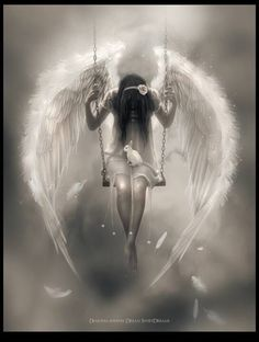 She's sorry...... the sorry angel.