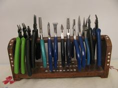 Storing Beading Tools