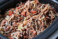 Cabbage Roll Casserole: cabbage, sauerkraut, and tomatoes from The Gluten Free Vegan