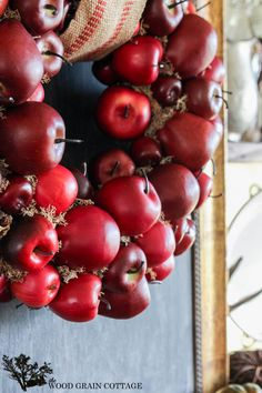 Apple Wreath by The