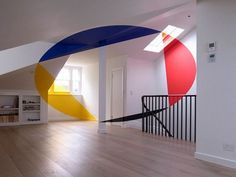 Geometric Perspective Paintings