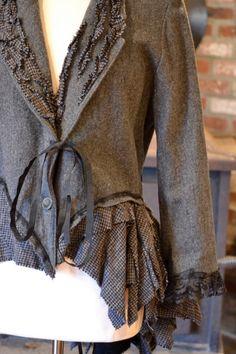 repurposed blazer