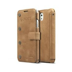 Samsung Galaxy Note 3 G-Note Diary Collection - Vintage Brown