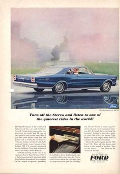 1966 ford galaxy 500.  (I think I learned to drive in one of these.)