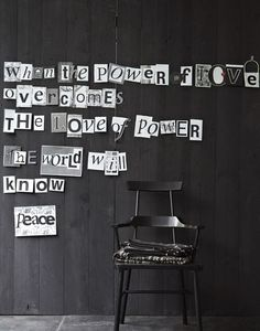 Méchant Studio Blog: those walls...