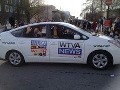 WTVA in the Tupelo Christmas Parade.