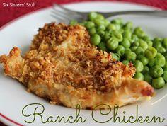 Ranch Chicken Recipe / Six Sisters' Stuff | Six Sisters' Stuff