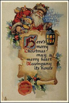 Santa art by Francis Brundage