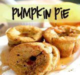 Pumpkin pie popovers