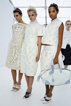 Backstage: Louis Vuitton S/S 201