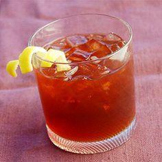 Sazerac | Said to be The Big Easy's first cocktail, it was originally served at the Sazerac Coffee House. | SouthernLiving.com