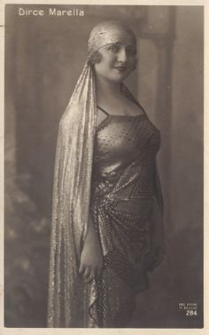 Dirce Marella, circa 1920s.