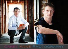 senior guy pose Carey Anne Photography